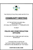 Microsoft Word - Crime Meeting Poster 11 February 2016 A5 versio