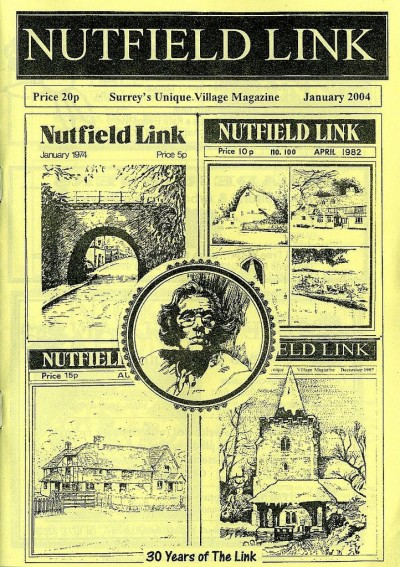 Cover of Nutfield Link Village Magazine