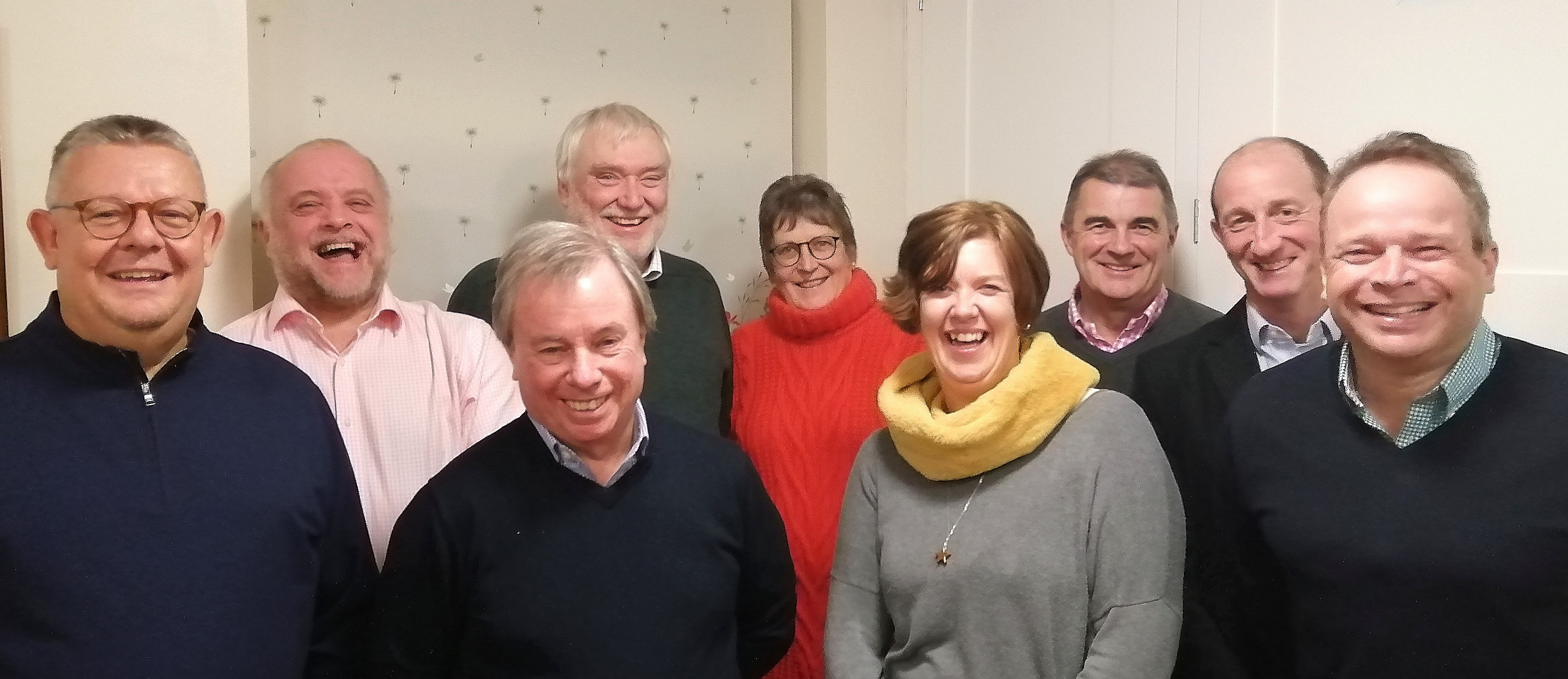 Photo of the whole council at the December 2019 meeting