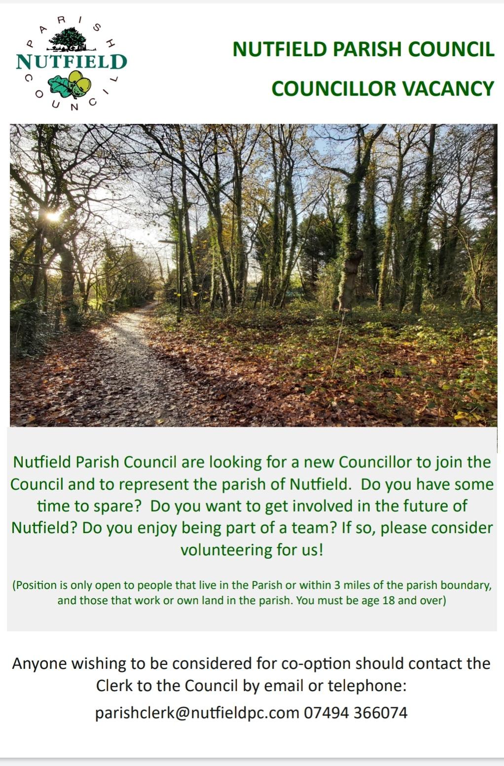 NPC councillor advert