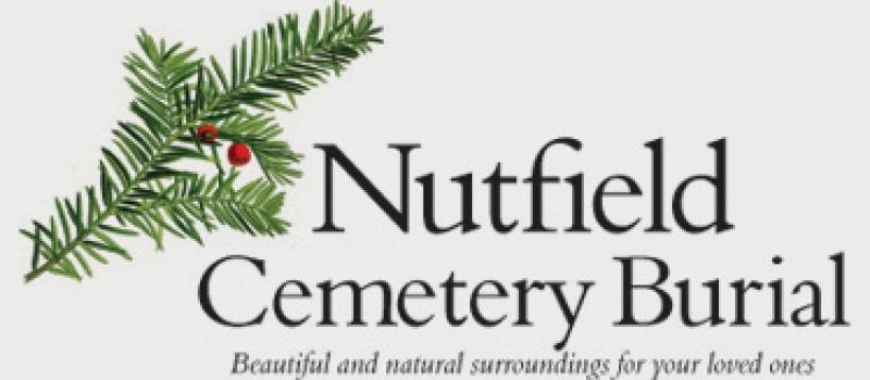 Nutfield Cemetery Burial logo